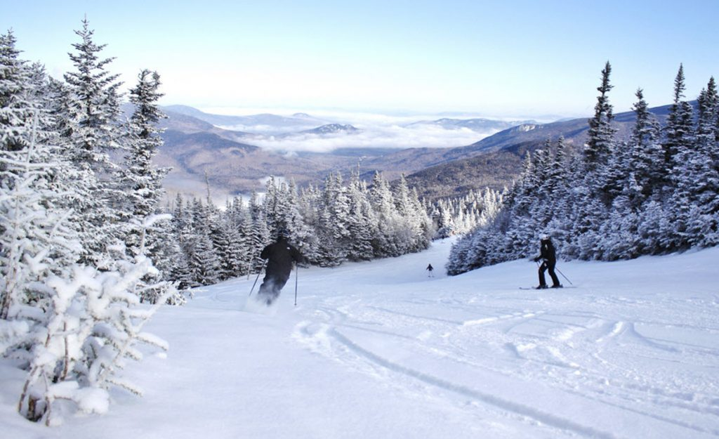 Ski Wildcat in the White Mountains of New Hampshire